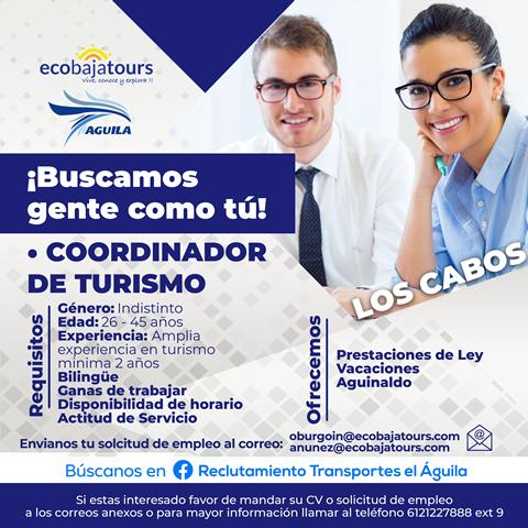 Coordinador de Turismo